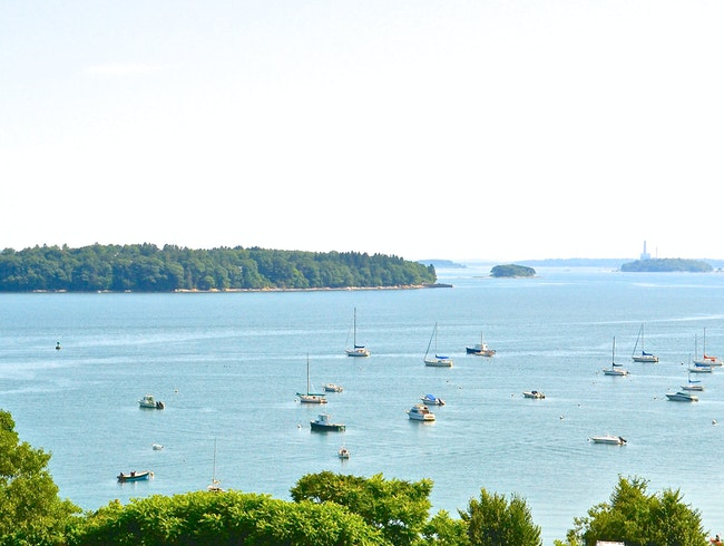 Enjoy the Views of Casco Bay