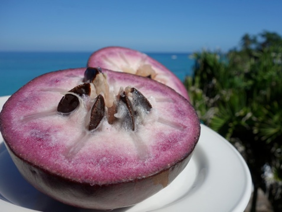 The Exotic Star Apple