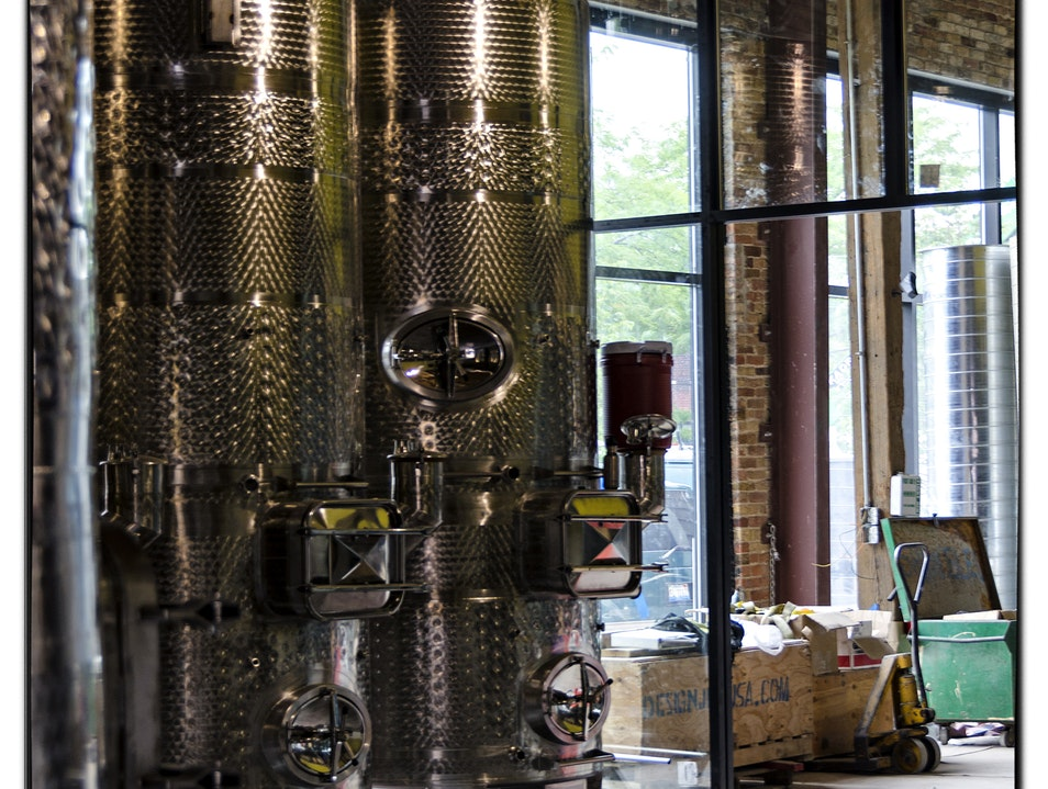 A Winery in Downtown Chicago