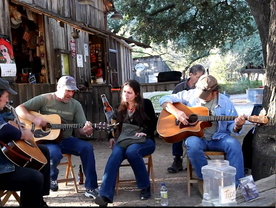 """So Many Reasons to Love Luckenbach"" Fredericksburg Texas United States"