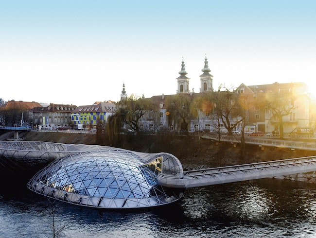 Floating Island of Graz