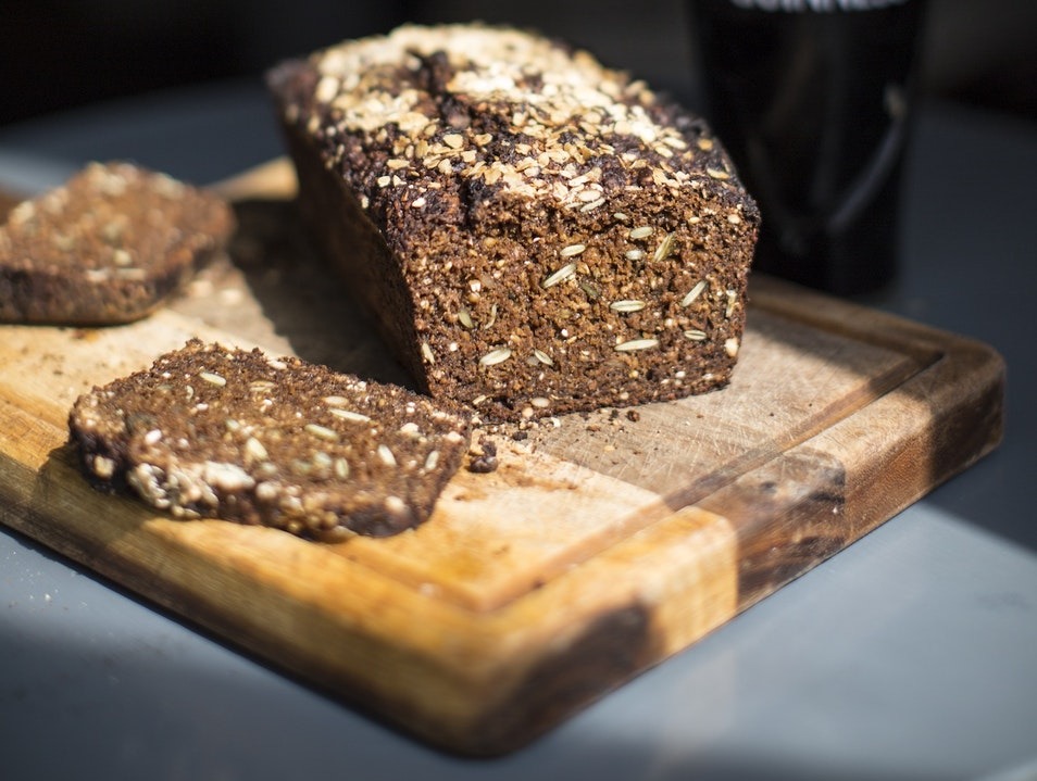 Brown Bread and Beef at Dublin's The Chop House