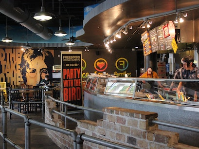 Freebirds World Burrito Houston Texas United States