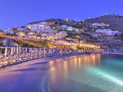 Santa Marina Resort, Mykonos Ornos  Greece