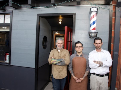 Temescal Alley Barber Shop Oakland California United States