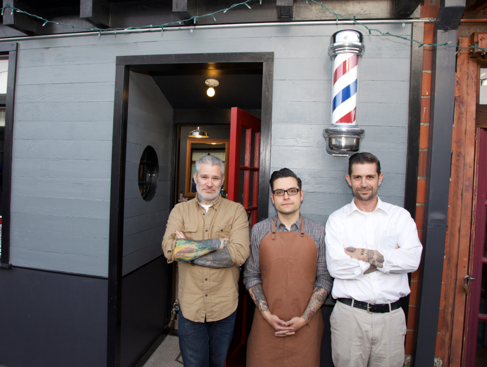 Get a Clean Shave at Temescal Alley Barber Shop