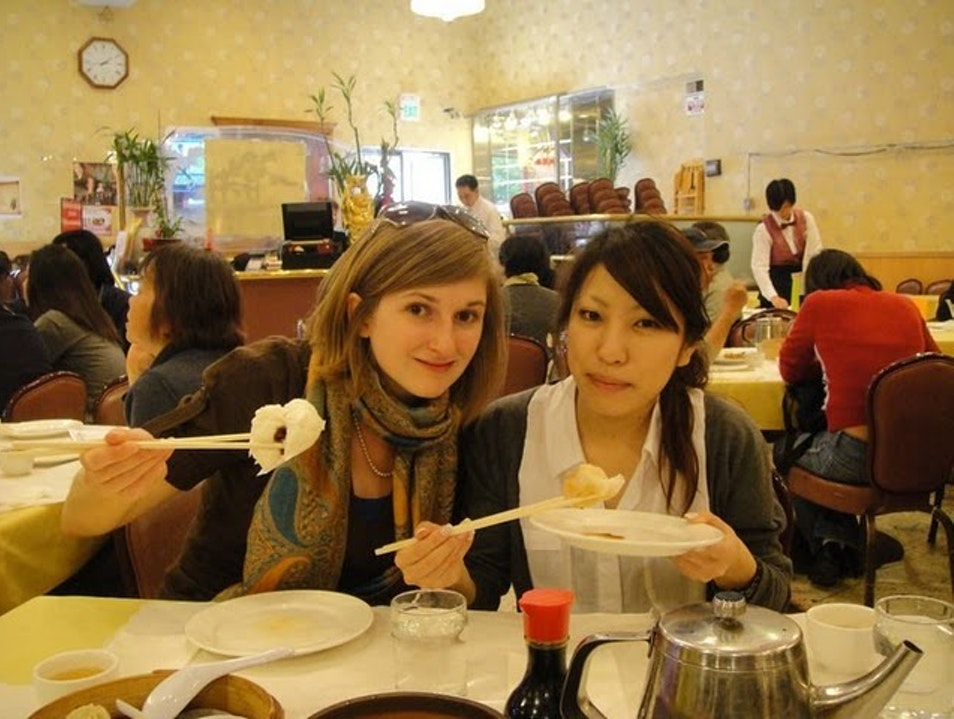 Dim Sum in SF Chinatown San Francisco California United States