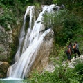 Polilimnio Waterfalls Messinia  Greece