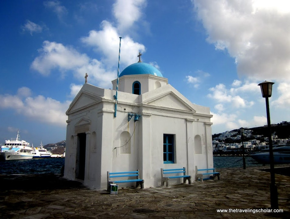 Mykonos: Postcard from Greece