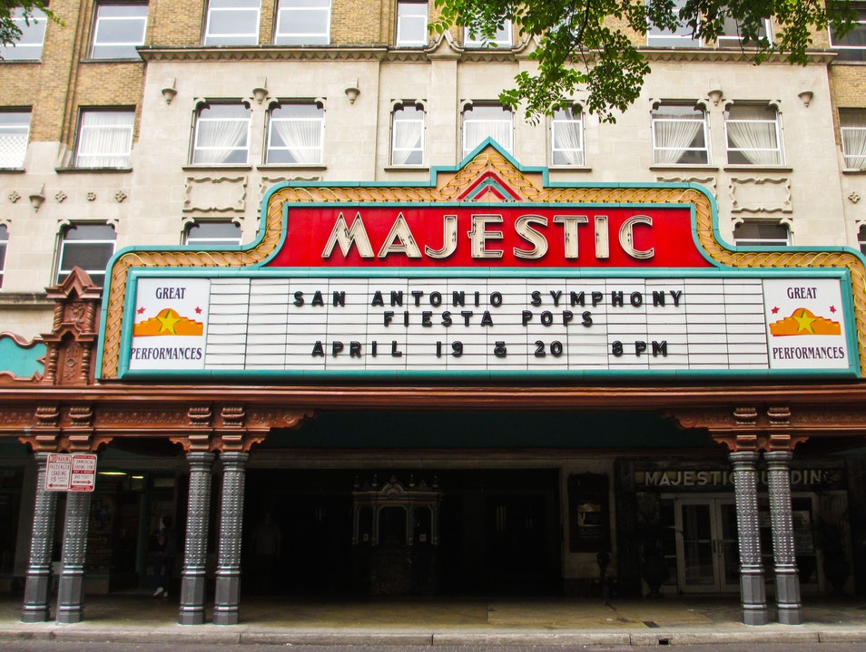 Majestic Theatre Falls City Texas United States