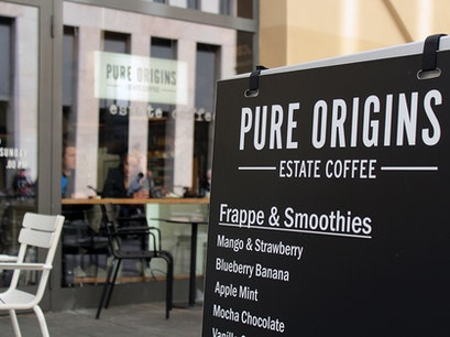 Pure Origins Estate Coffee Berlin  Germany