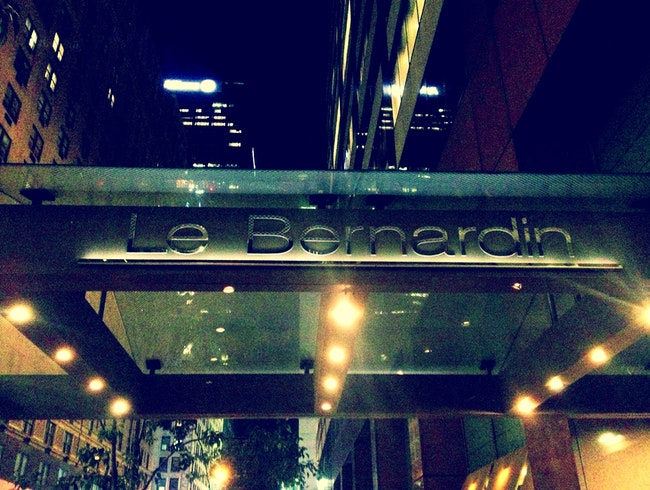 A Meal to Remember at Le Bernardin