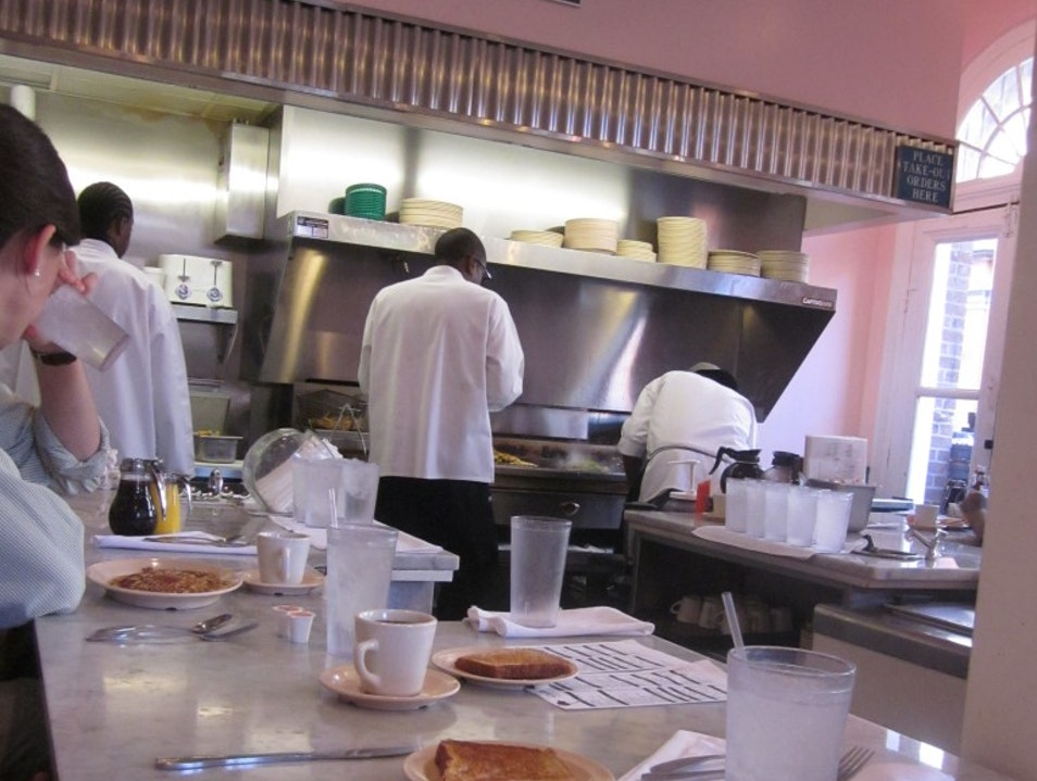 Southern Hospitality at Camellia Grill New Orleans Louisiana United States