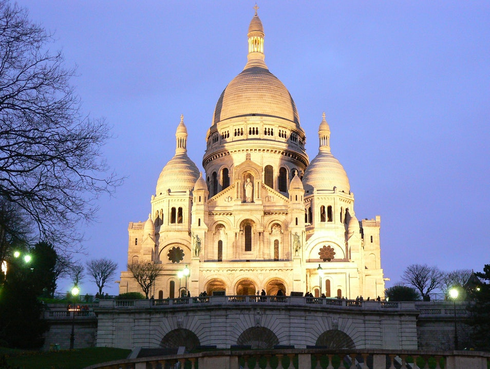 Sacre Coeur Montmartrel Paris Paris  France