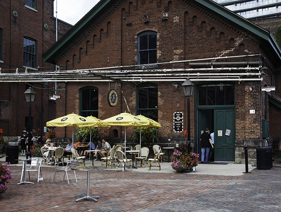 The Distillery District Toronto  Canada
