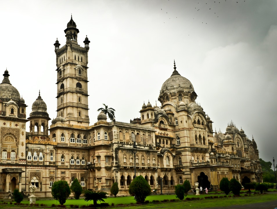 Palace of the Maratha rulers in the city of Baroda Vadodara  India