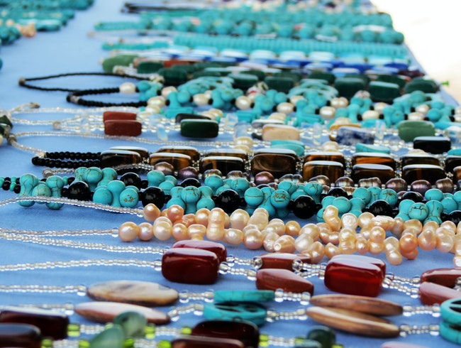 Turquoise and Coral and Pearls, Oh My!