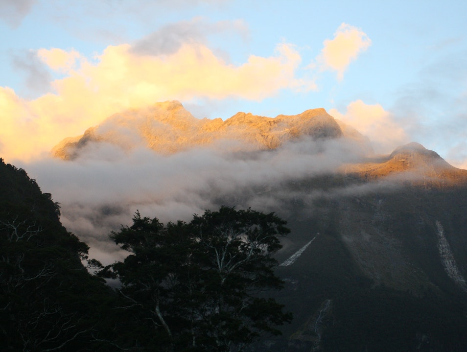 Sunrise on Milford Sound