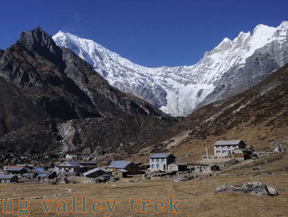 The Langtang Valley is easily approached from Dhunche town and park office Langtang  Nepal