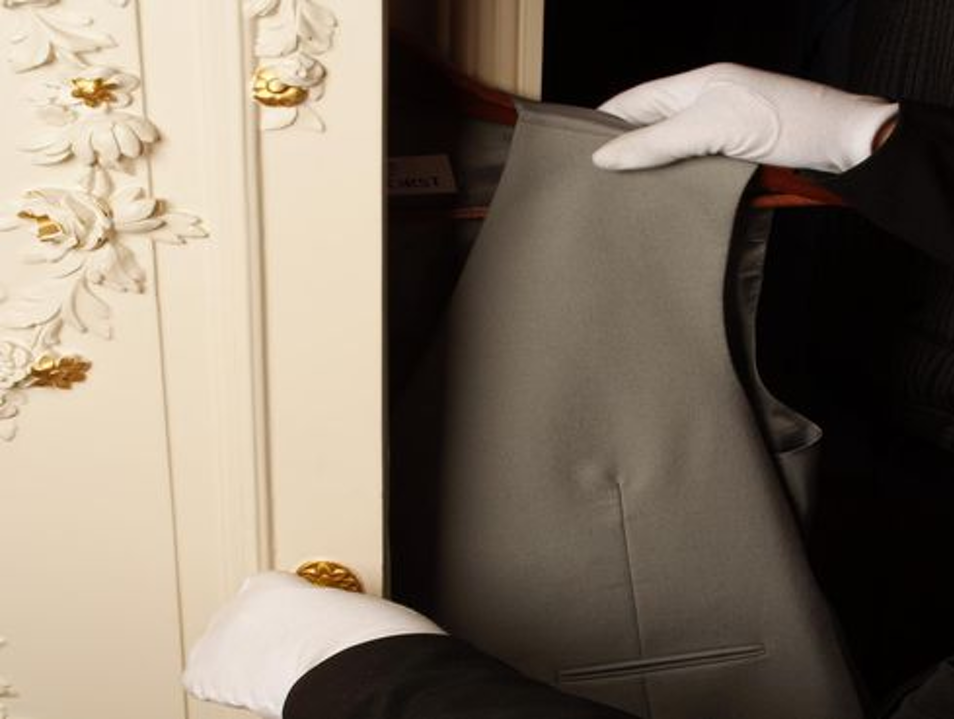 Butler Service at the Hotel Imperial Vienna