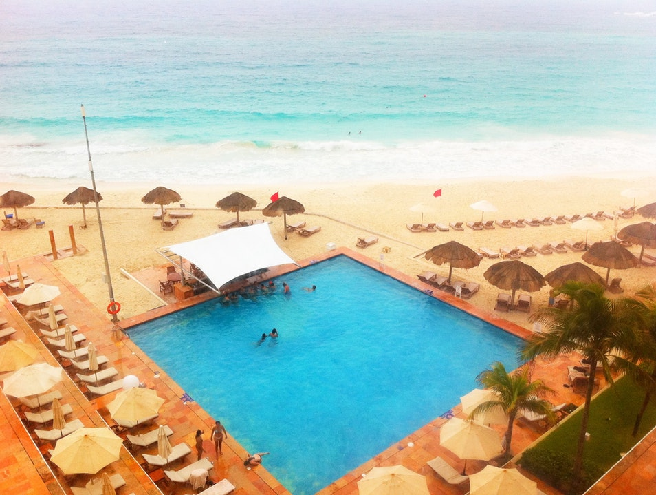 Enjoying the View from the Westin Resort and Spa Cancun