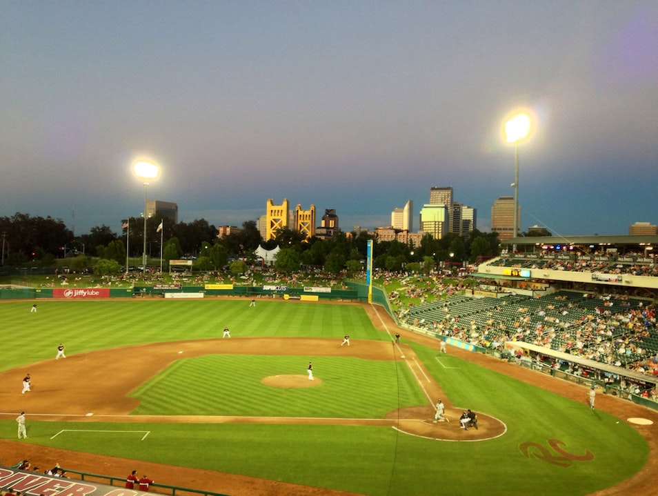 Root for the Sacramento River Cats