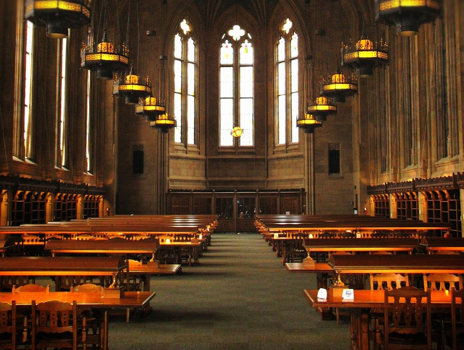 Cathedral? No, Library. Seattle Washington United States