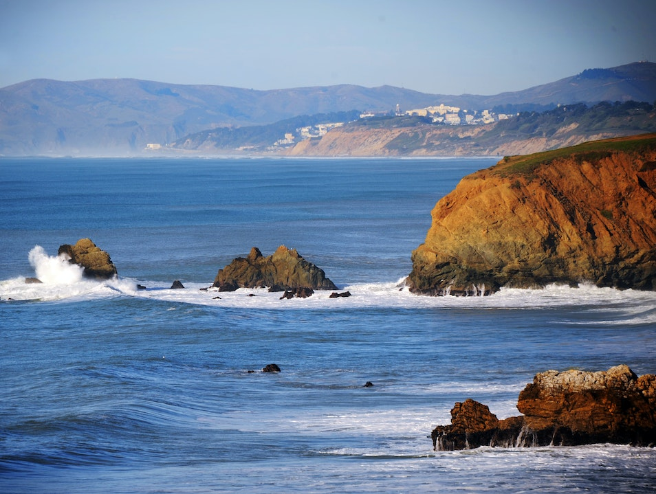Bring Your Walking Shoes and Your Board Pacifica California United States