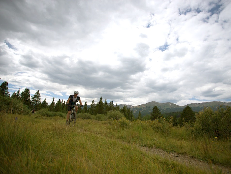 Hit the trails during Breck Bike Week Breckenridge Colorado United States
