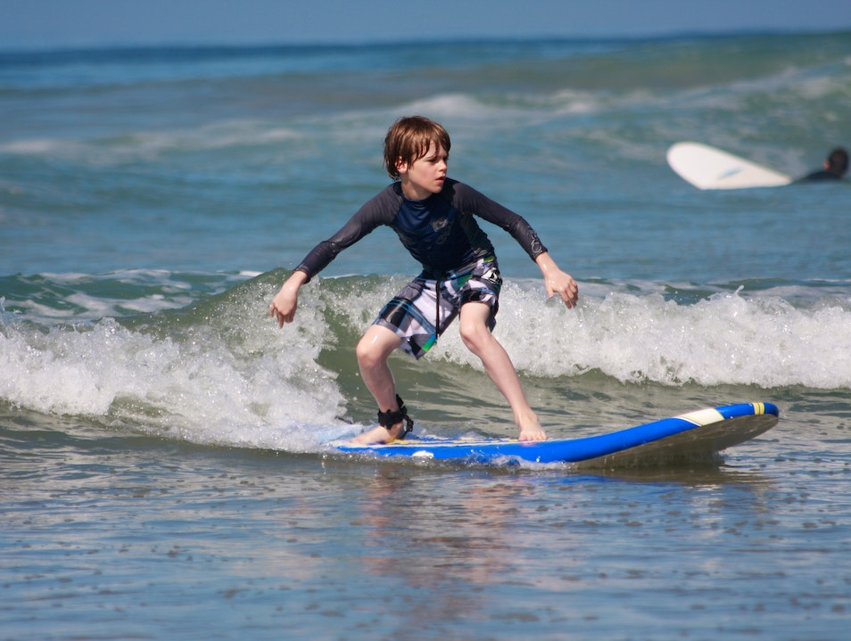 Family Surf Camp: Catching Waves with the Kids