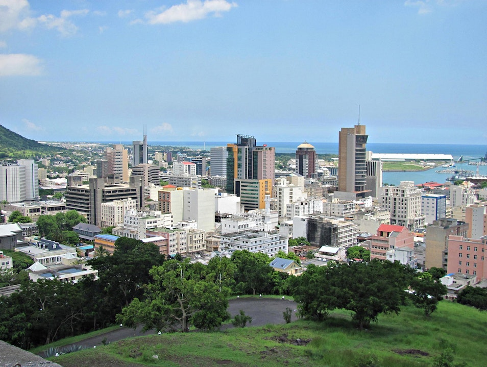 Take in the View from Fort Adelaide Port Louis  Mauritius