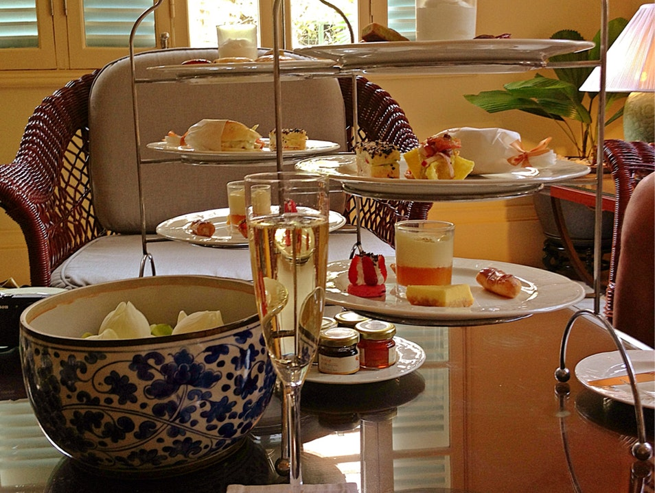 High Tea At Raffles Hotel Le Royal Phnom Penh  Cambodia