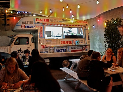 Food Truck Garage Auckland  New Zealand