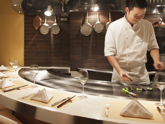 Teppanyaki Dining with a French Twist