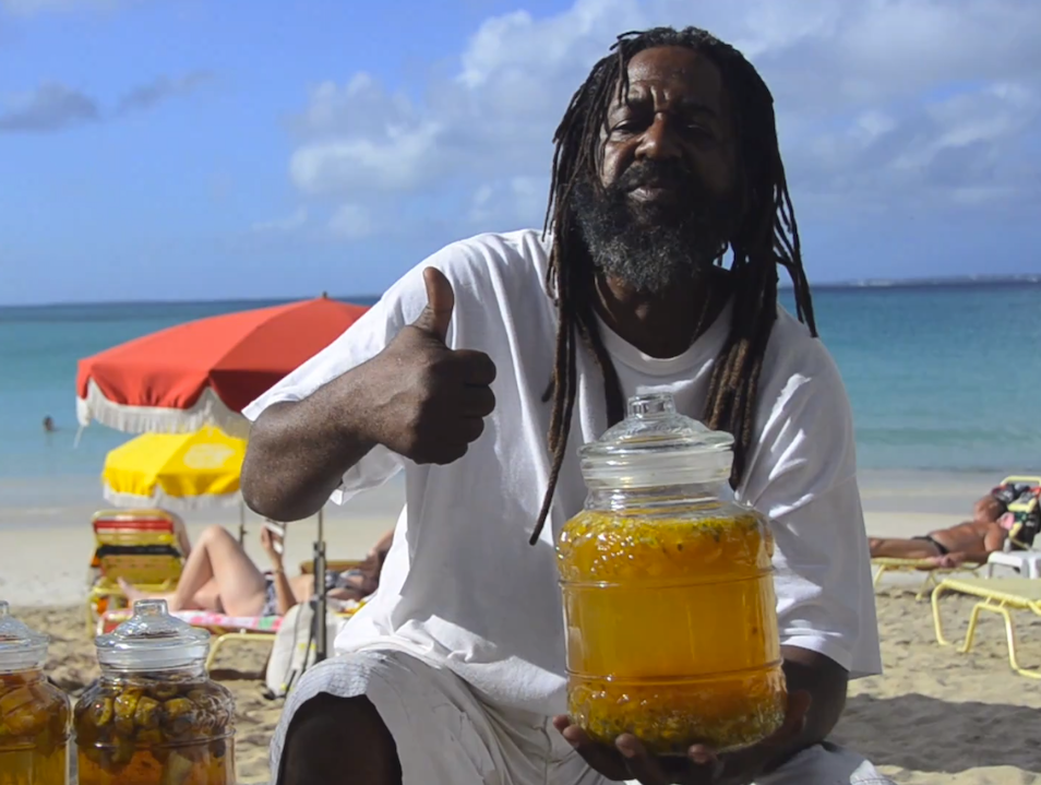 Solar Powered Rum Infusions at Kali's Beach Bar