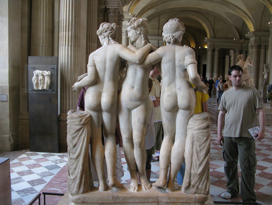 Three Graces plus one   France