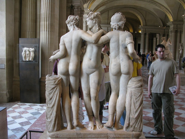 Three Graces plus one