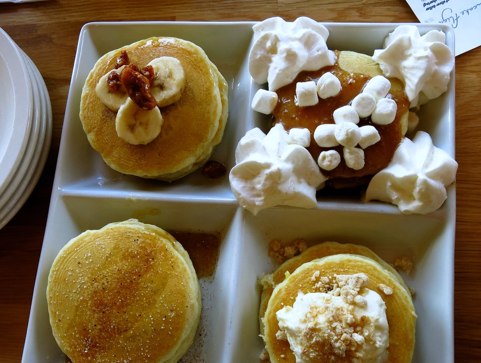 Pancake Flight at Orange Chicago Illinois United States