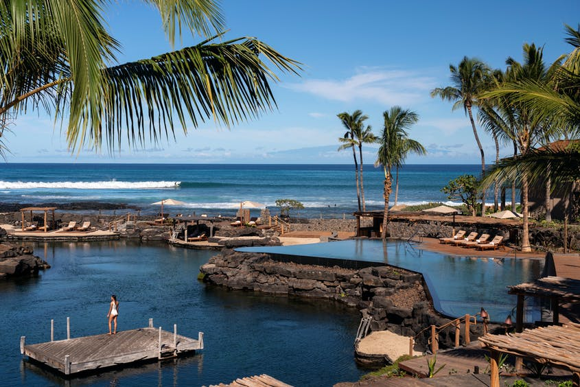 Kids will discover an appreciation for the aquatic world at the Four Seasons.
