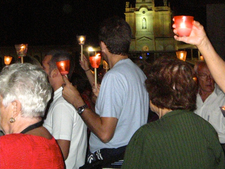 The Candlelight Procession Fátima  Portugal
