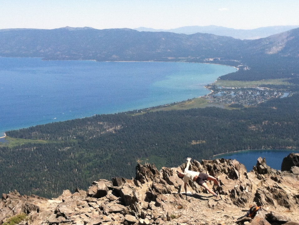 Rock Star at 9,000 feet Lake Tahoe California United States