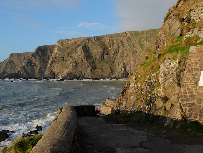 Dramatic Cliff Scenery at Hartland Quay