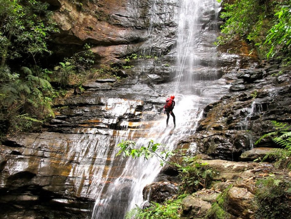Canyoning and Rappelling in the Blue Mountains