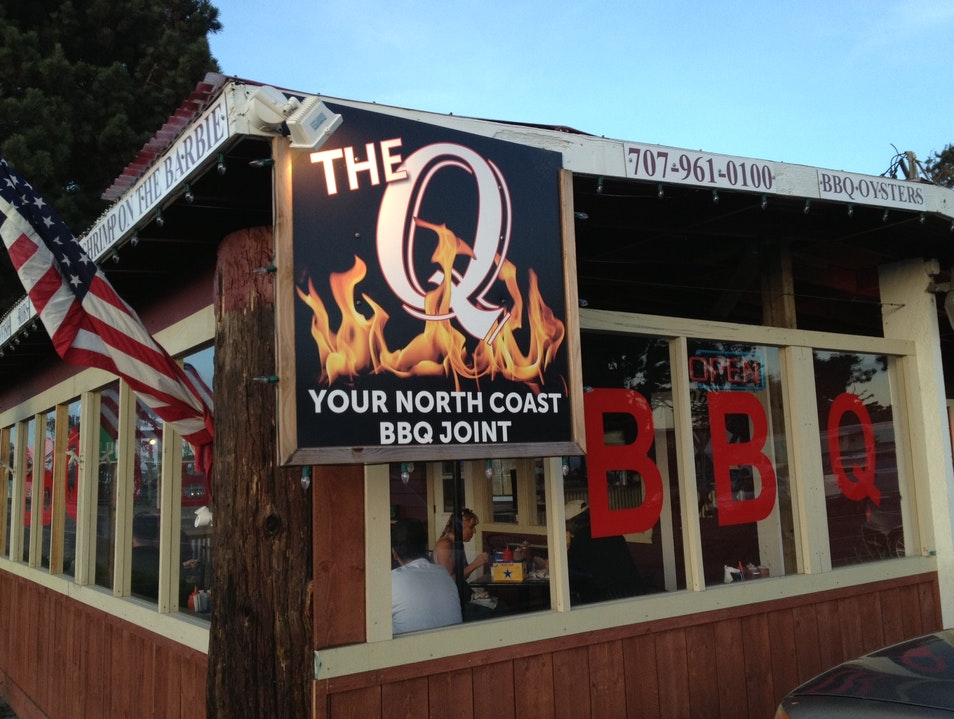 Gourmet BBQ on California's North Coast Fort Bragg California United States