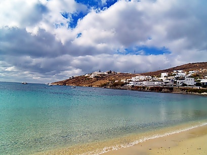 Ornos Mykonos  Greece