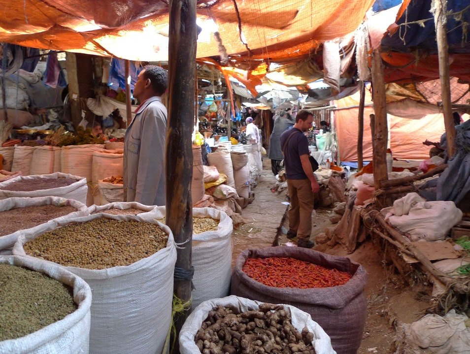In the Heart of the Spice Market Dire Dawa  Ethiopia