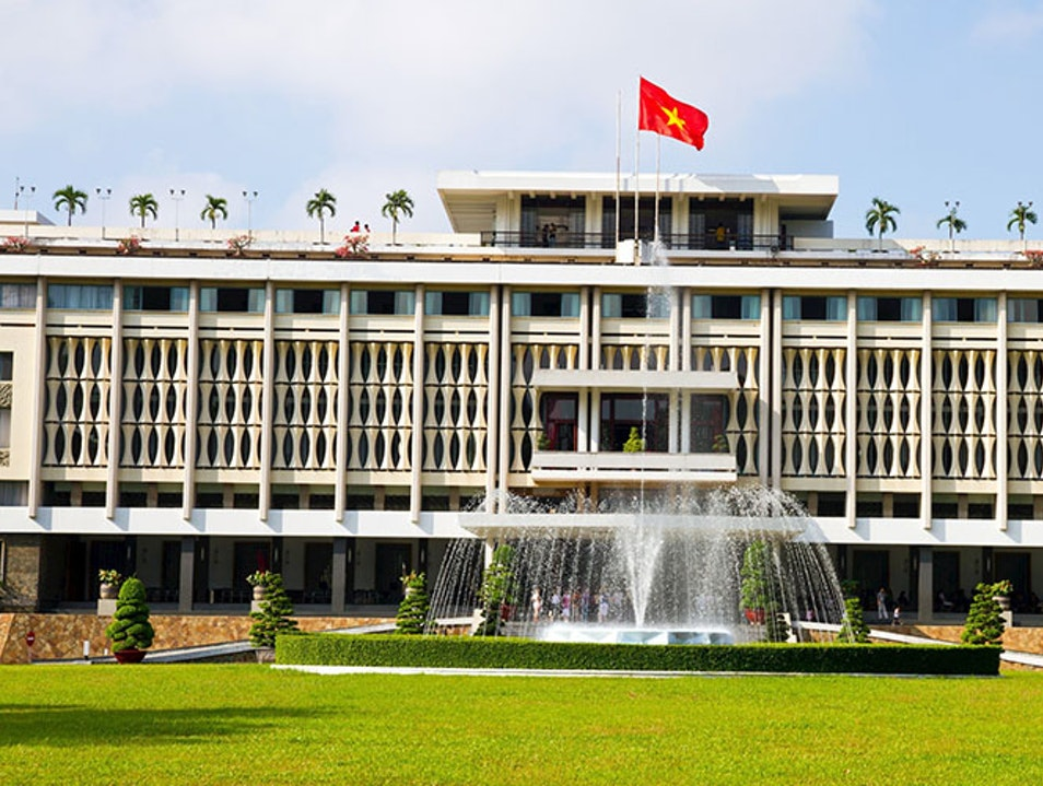 Independence Palace Ho Chi Minh City  Vietnam