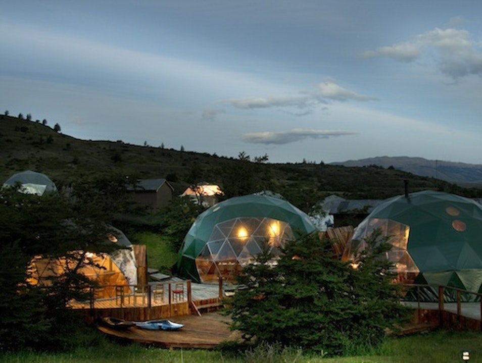 Nomadic Lodgings: Ecocamp in Patagonia, Chile Torres del Paine  Chile