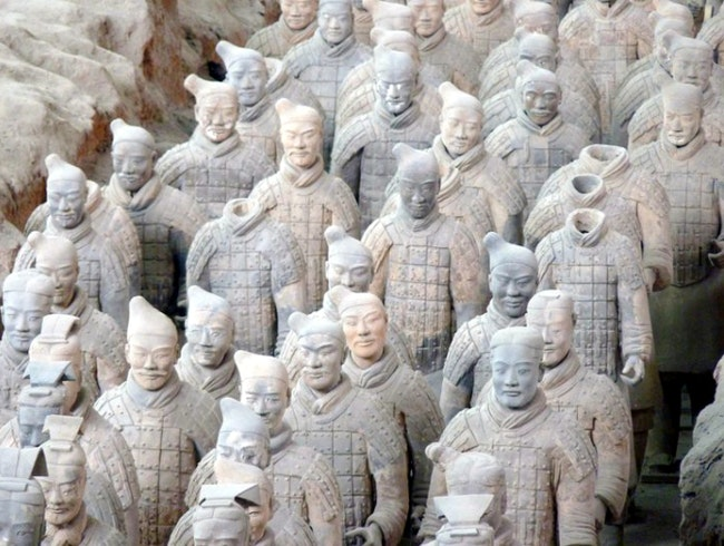 Visiting the Terra-cotta Warriors