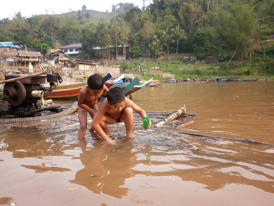 Are we there yet?: Discovering the River Villages of Northern Laos Muang Khua  Laos